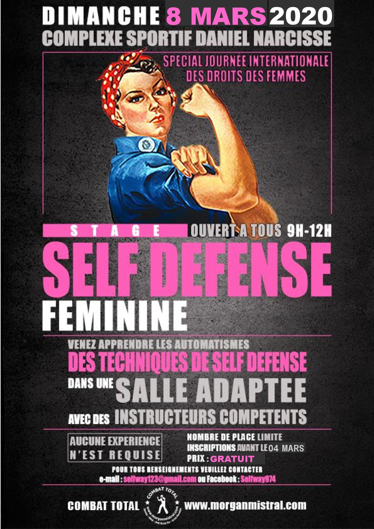 Stage à l'occasion de la journée internationale de la femme
